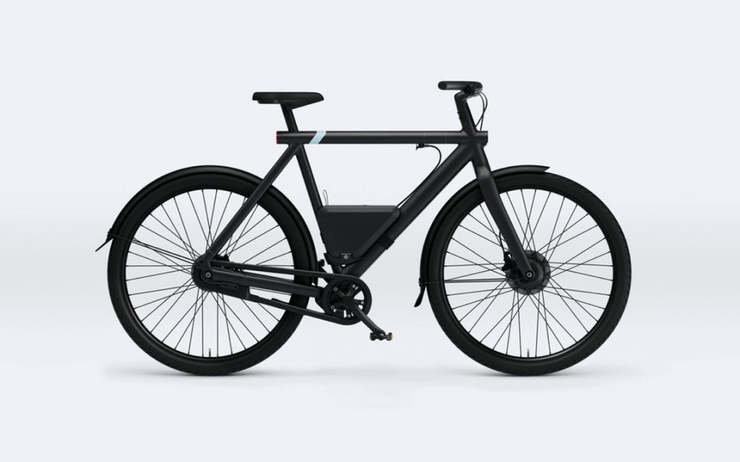 vanmoof powerbank batterie amovible